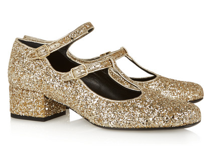 "I would definitely keep these ""Yves Saint Laurent Glitter-Finished Leather Pumps"" after 10 years..."